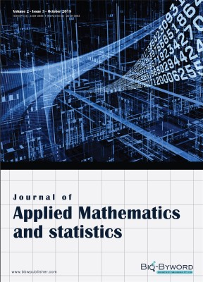 Journal of applied mathematics and statistics
